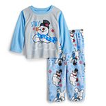 Jammies For Your Families® Toddler Frosty The Snowman Stay Cool Top & Bottoms Pajama Set
