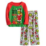 Jammies For Your Families® Toddler Dr. Seuss' How The Grinch Stole Christmas Grinchmas Top & Bottoms Pajama Set
