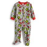 Jammies For Your Families® Baby Dr. Seuss' How The Grinch Stole Christmas Grinchmas One-Piece Pajamas