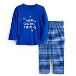 Toddler Boy Jammies For Your Families® Hanukkah Graphic Top & Pants Pajama Set
