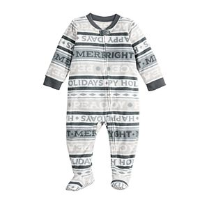 Baby Jammies for Your Families® Peace and Joy Microfleece Sleep & Play