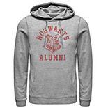 Men's Deathly Hollows 2 Hogwarts Alumni Logo Hoodie
