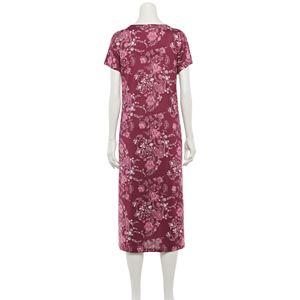 Women's Croft & Barrow® Short Sleeve Knit Nightgown
