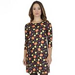 Petite Apt. 9® Halloween Print Swing Dress