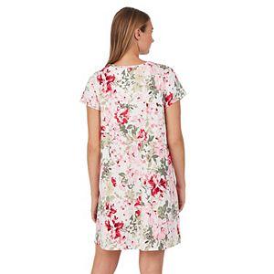 Petite Croft & Barrow® Henley Nightgown