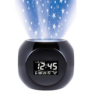 Wembley Projection Alarm Clock
