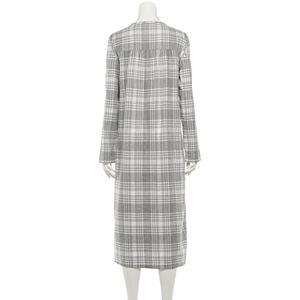 Women's Croft & Barrow® Long Flannel Nightgown