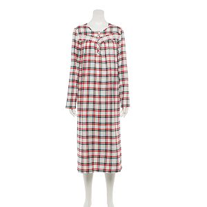 Petite Croft & Barrow® Flannel Nightgown