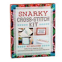 Snarky 14-Pattern Cross Stitch Kit