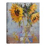Fine Art Canvas Wild Sunflowers Wall Art