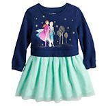 Disney's Frozen Elsa & Anna Toddler Girl Sweatshirt Tutu Dress by Jumping Beans®
