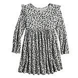 Toddler Girl Jumping Beans® Flutter-Sleeve Dress