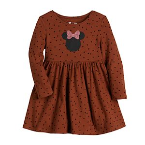 Disney's Minnie Mouse Toddler Girl Polka-Dot Dress by Jumping Beans®