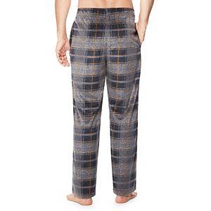 Men's Cuddl Duds® Plaid Fleece Sleep Pants