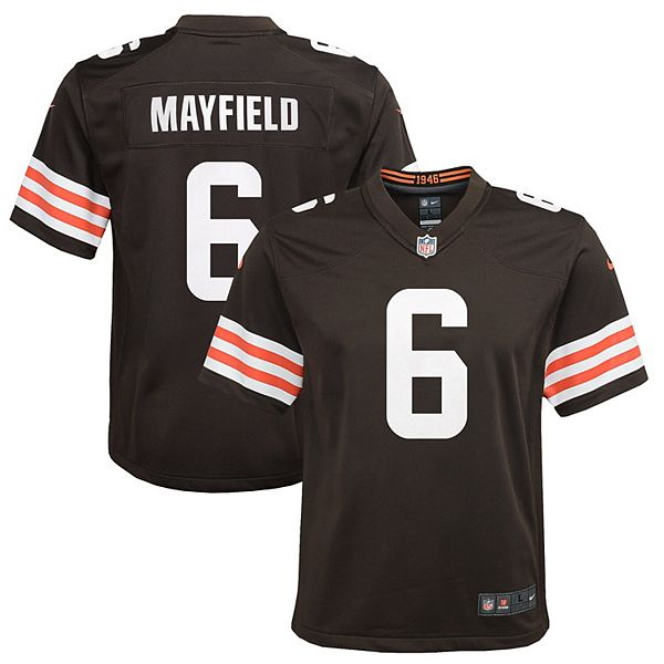 youth baker mayfield browns jersey