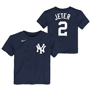 Toddler Nike Derek Jeter Navy New York Yankees Player Name & Number T-Shirt
