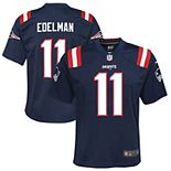 Youth Nike Julian Edelman Navy New England Patriots Game Jersey