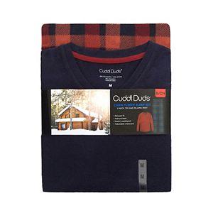 Men's Cuddl Duds® Cabin Fleece Pajama Set