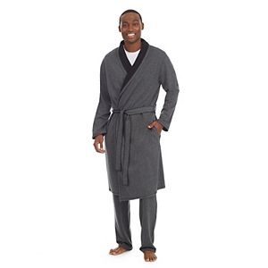 Men's Cuddl Duds® Double Knit Robe