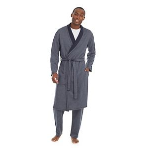 Men's Cuddl Duds® Double Knit Robe