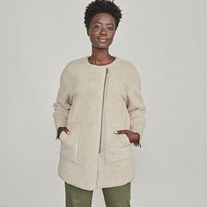 Women's Elizabeth and James Patch Pocket Sherpa Jacket
