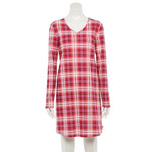 Women's Croft & Barrow® V-Neck Sleepshirt