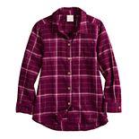 Girls 4-12 Jumping Beans® Plaid Shirt