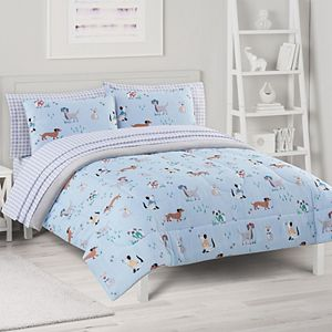 The Big One® Reversible Jack Dogs Comforter Set with Sheets