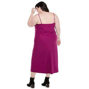 Plus Size EVRI? Satin Slip Dress