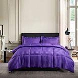 Kathy Ireland Damask Stripe Comforter Set
