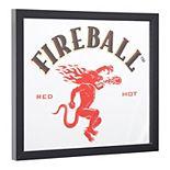 Fireball Whisky Mirror Wall Decor