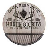 Huntin' Stories Beer Opener Wall Decor