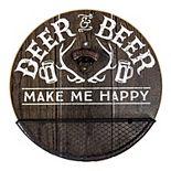 Deer & Beer Bottle Opener Wall Decor
