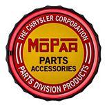 Mopar Chrysler Parts LED Wall Decor