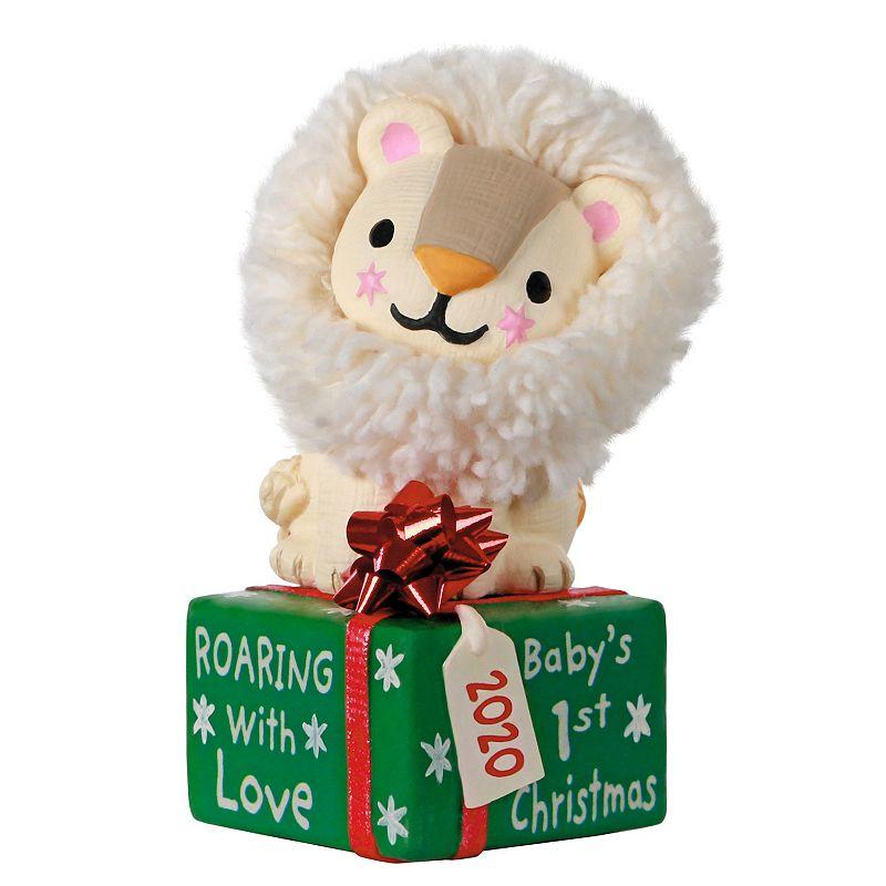 """Baby's 1st Christmas"" Lion 2020 Hallmark Keepsake Christmas Ornament"