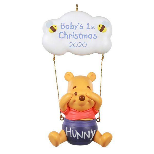 Disney Babys First Christmas Ornament 2020 Disney's Winnie the Pooh Baby's 1st Christmas 2020 Hallmark