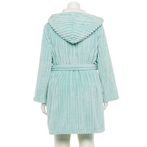 Plus Size LC Lauren Conrad Textured French Terry Robe