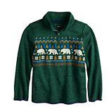 Boys 4-12 Sonoma Goods For Life® Quarter-Zip Fleece Sweater