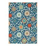 Waverly by Nourison Sun N Shade Terrace Indoor Outdoor Rug