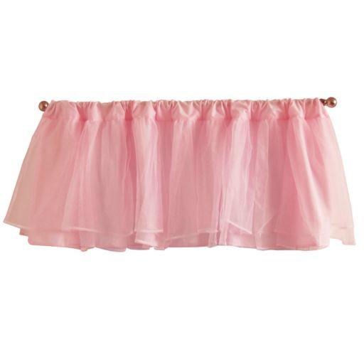 Tadpoles™ Tulle Window Valance - Pink