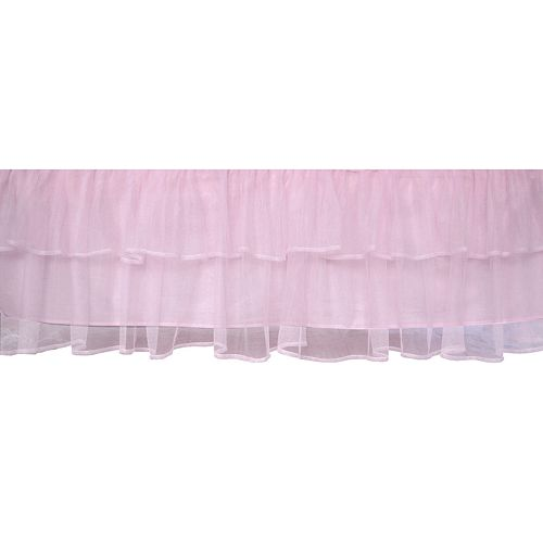 Tadpoles™ Tulle Crib Skirt - Pink