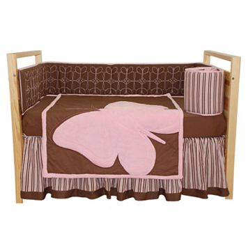 Tadpoles Butterfly 4-pc. Crib Set