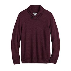 Men's Sonoma Goods For Life® Shawl-Collar Pullover Sweater