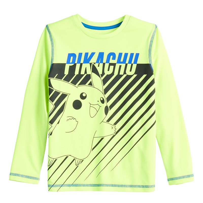 Boys 4-12 Jumping Beans Pokemon Pikachu Active Graphic Tee, Boy's, Size: 6, Yellow