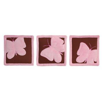 Tadpoles™ Butterfly Wall Hangings Set