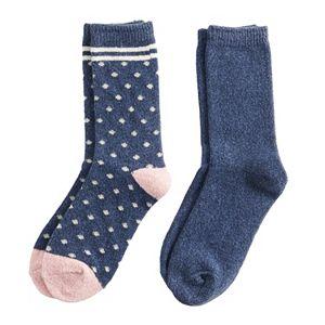 Women's Sonoma Goods For Life® Polka-Dot Crew Socks 2-Pack