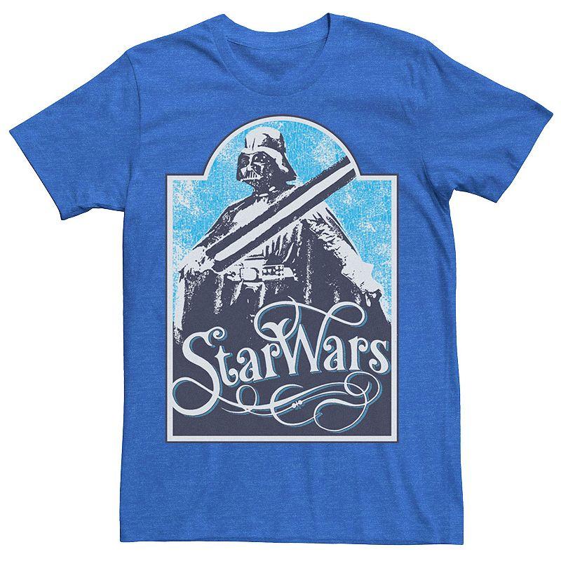 Men's Star Wars Retro Darth Vader Poster Tee