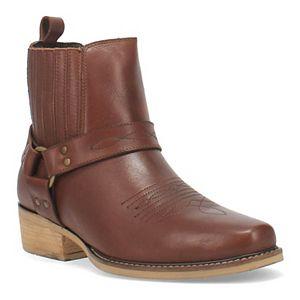 Dingo Black Bart Men's Ankle Boots