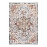 nuLOOM Annabel Hand Knotted Rustic Rosette Area Rug