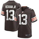 Men's Nike Odell Beckham Jr. Brown Cleveland Browns Game Jersey